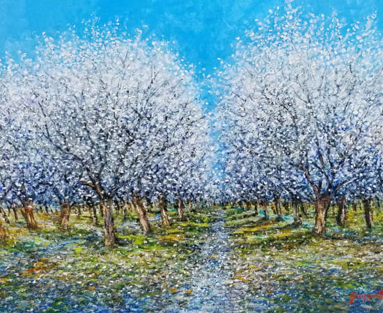James Scoppettone, Spring of the Orchard