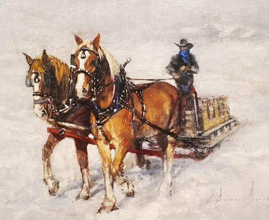 Dean Bowlby, Pulling the Sleigh
