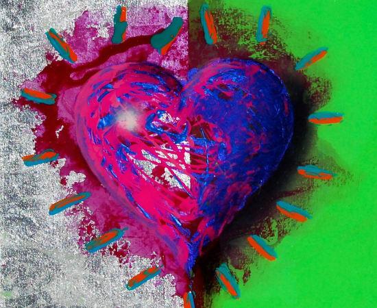 James Jensen, Heart Magenta & Green