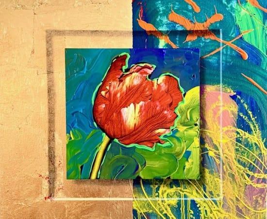 James Jensen, Red Tulip 10158
