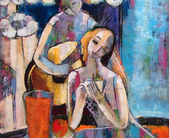 Helen Zarin, Cafe II
