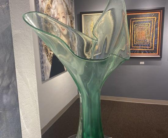 Tim Lotton, Sea Foam Green Free Form