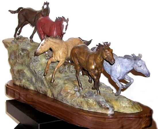 Don Hunt, Running Horses