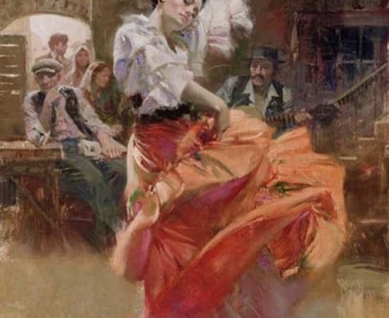 Pino, Flamenco in Red