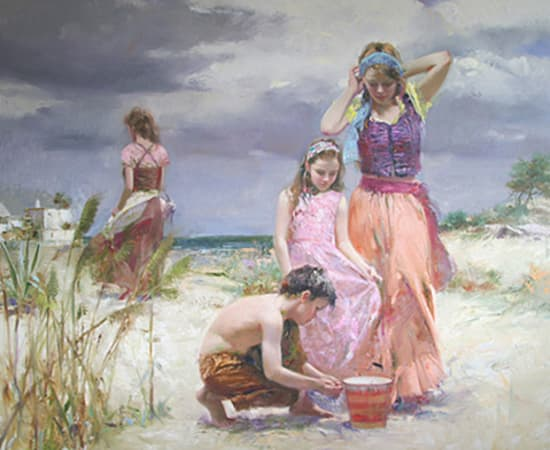 Pino, Gathering Seashells