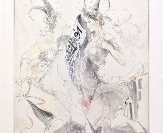 Jurgen Gorg, Zodiac Series - Capricorn