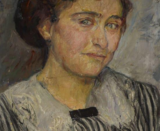Adèle Reifenberg, Portrait of the Artist's Sister-in-Law, Elise Reifenberg (Gabriele Tergit)