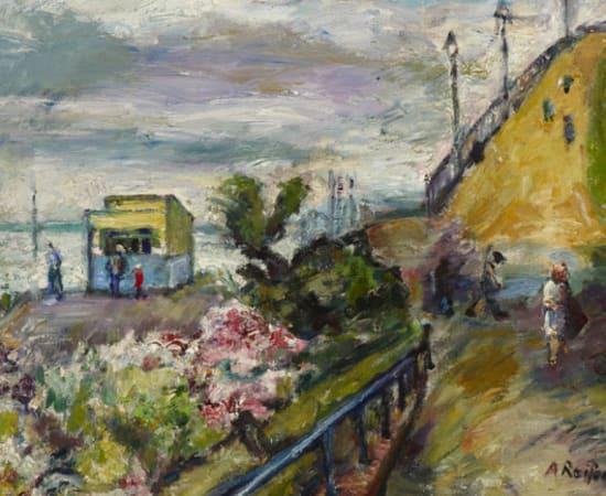 Adèle Reifenberg, Eastbourne at Dawn, 1981