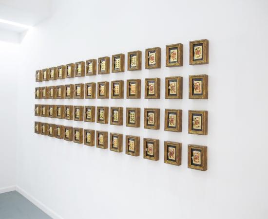 Yuki Matsueda, The Cards (Gold set), 2017