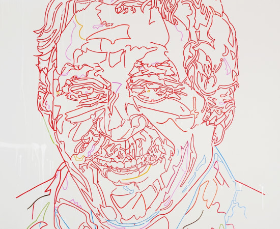 Farsad Labbauf, Liquid Light - (A Portrait of Gabo), 2011