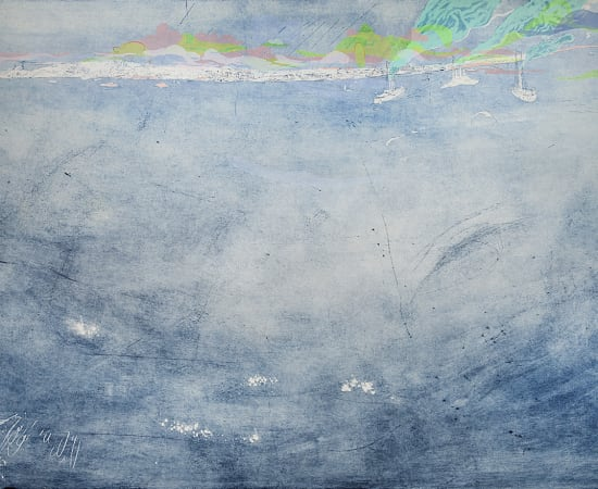 Allison Bianco, Pouring on Jamestown, 2016