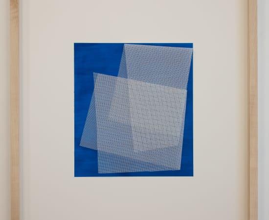 TOM HENDERSON, Moiré - Oriental Blue, 2019