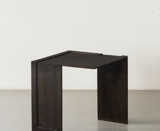 ERIC SCHMITT, Guéridon / Side table Pliage