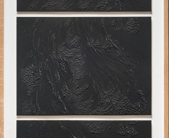 LAUREN COLLIN, Triptyque Noir, 2016