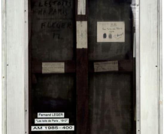 PHILIPPE GRONON, Verso n°16, Les toits de Paris, par Fernand Léger, collection Centre Pompidou, Paris, 2007
