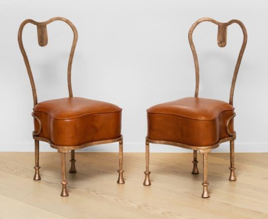 ERIC SCHMITT, Chaise 'Osselet' / 'Osselet' chair