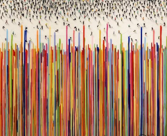 Craig Alan, Abstract 'Perspectrum', 2021