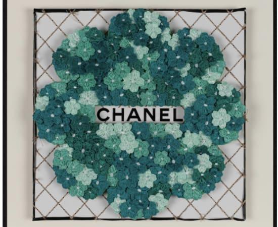 Stephen Wilson, Chanel Flower Flower (Teal)