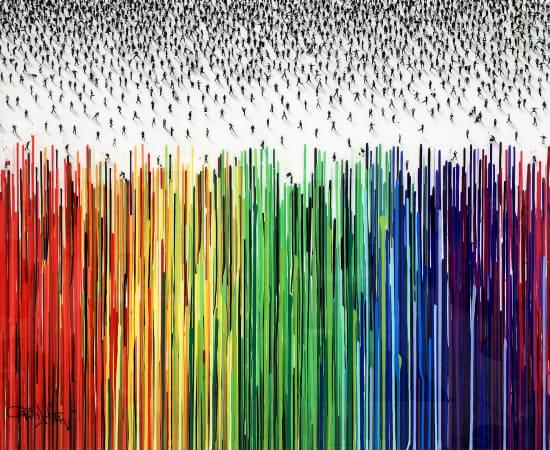 Craig Alan, Abstract 'Perspectrum'