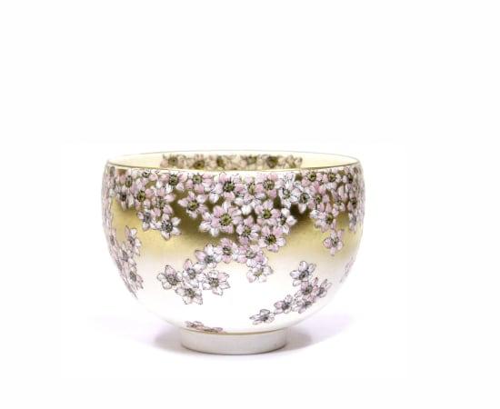 Ruri Takeuchi, 桃の茶碗「西王母」Peach tea bowl 'Seiobo', 2020
