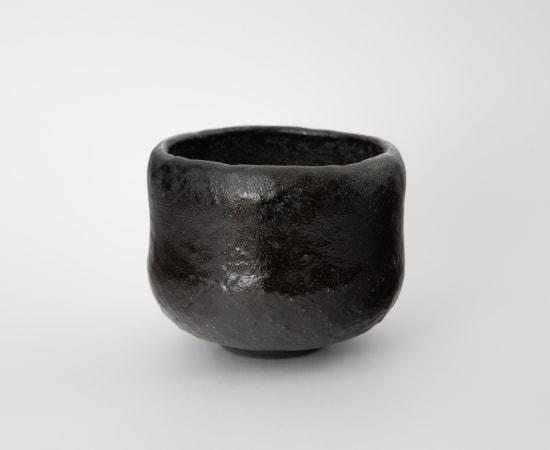 Morimitsu Hosokawa, Black Raku Tea Bowl