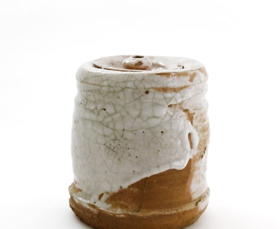 Kai Tsujimura, Shino Water Jar, 2019