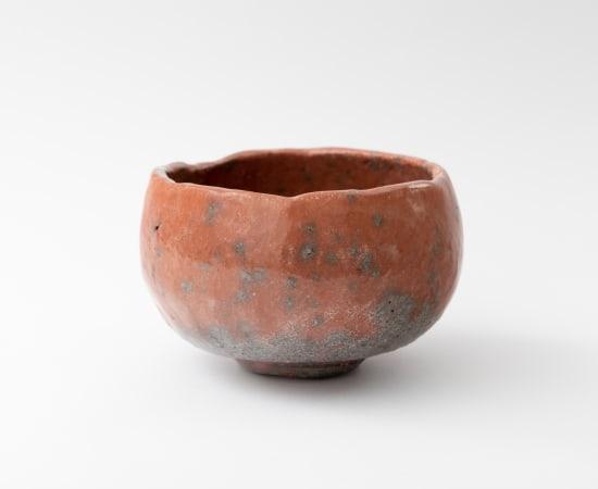 Morimitsu Hosokawa, Red Raku Tea Bowl