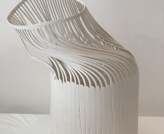 Lauren Nauman, Lines - White with base