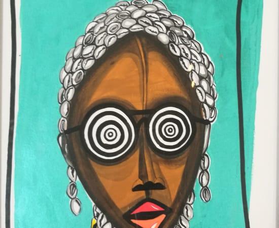 Obou Gbais, Selfie, 2020