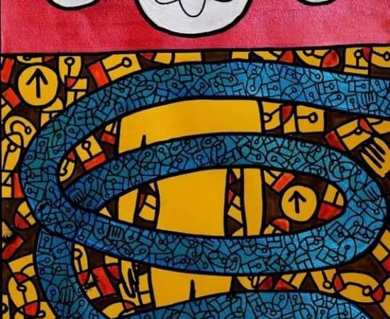 Albéric Kouassi, Atomes crochus, 2019