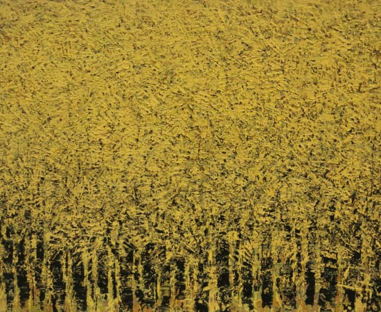 Ablade Glover, Yellow forest, 2020