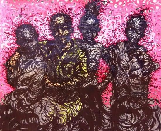 Cedric Tchinan, Ensemble ..., 2020