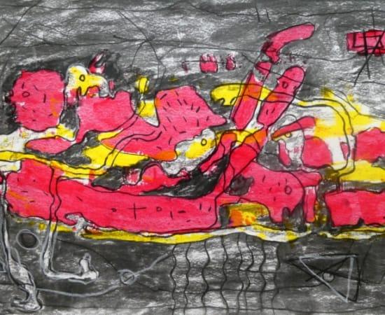 Obodjé, Traces dans la forêt, 2019