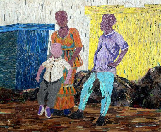 Dramane Bamana, Echange, 2021