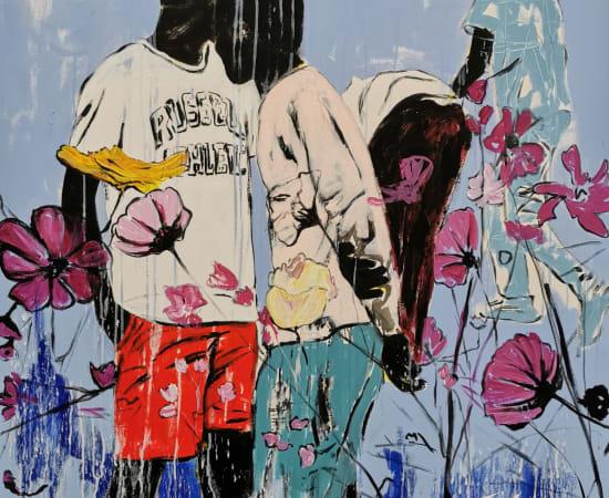 Romaric Yao, Yagor, Il y a des fleurs partout ...., 2020