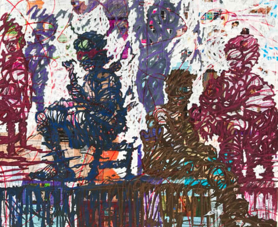 Cedric Tchinan, Mille couleurs, 2020