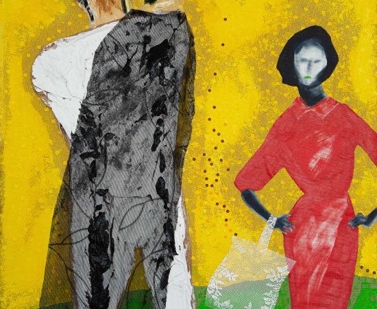 Cheryl McIntosh, Strange fruit 2 (Lynching), 2021