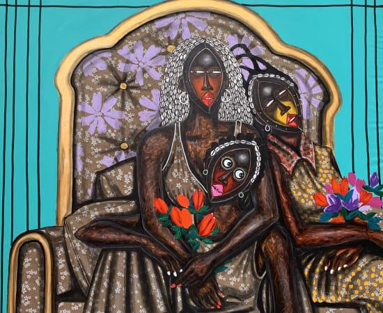 Obou Gbais, Les trois Demoiselles , 2021