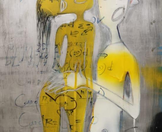 Romaric Yao, Yagor, Sans titre II, 2014