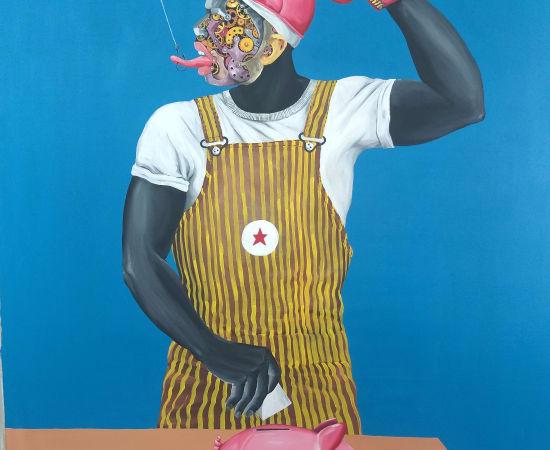 Dramane Diarra, La même prise, 2021