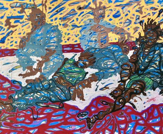Cedric Tchinan, Journée ensoleillée, 2020
