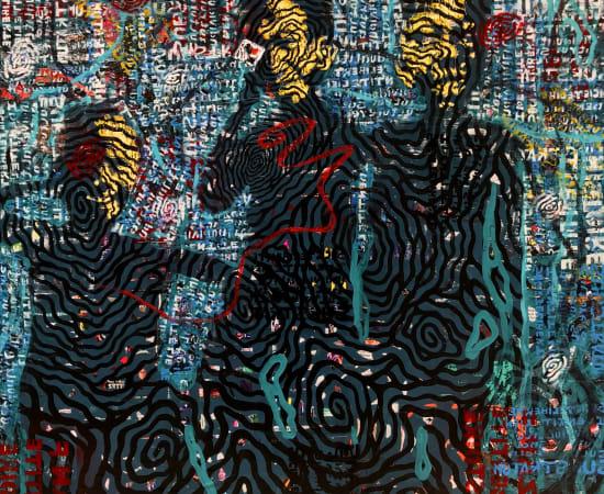 Franck EZAN, Les pèlerins de la bohème, 2020
