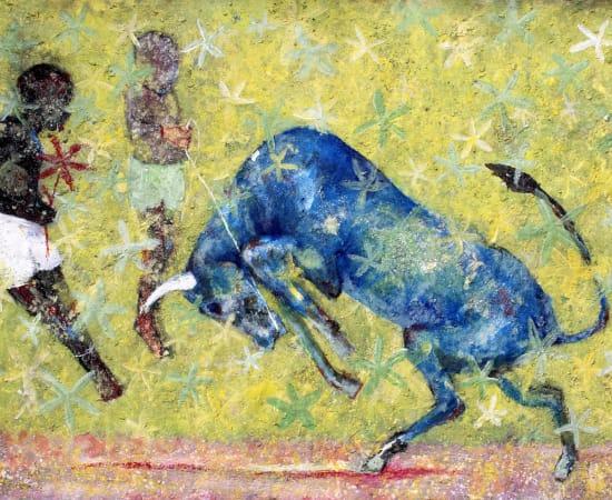 Alhassane Konté (Lass), Le taureau bleu, 2021