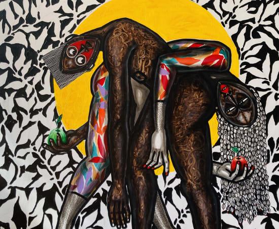 Obou Gbais, Adam et Eve, 2021