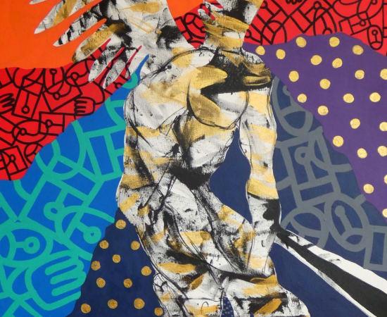 Albéric Kouassi, Vers la lumière, 2020