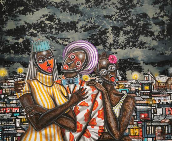 Obou Gbais, Polygamie, 2020