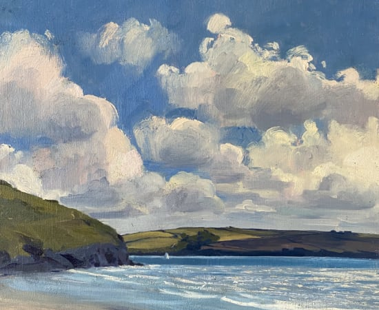 Daisy Sims Hilditch, Sparkling Light over Daymer Bay