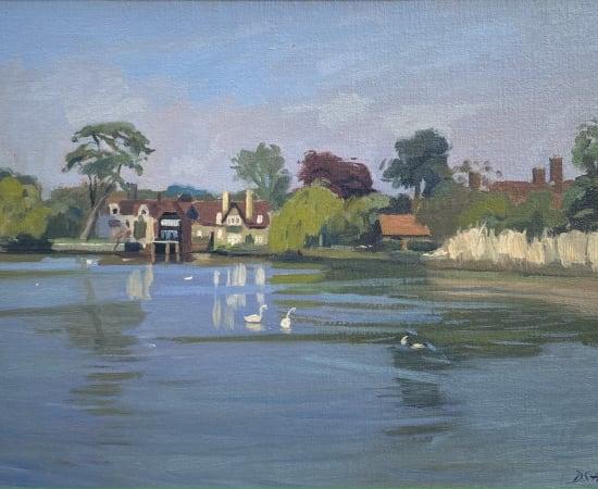 Daisy Sims Hilditch, Beaulieu Evening Light