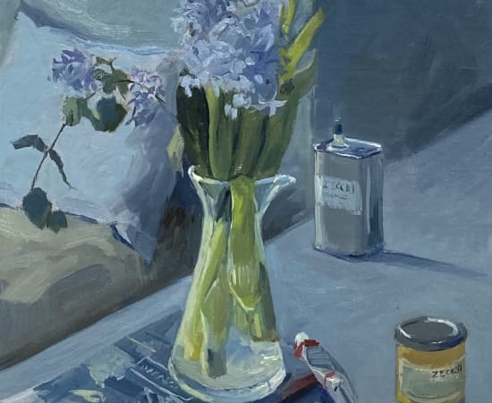 Daisy Sims Hilditch, Hyacinths and Ochre Pigment