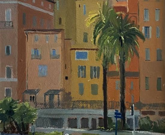 Daisy Sims Hilditch, Colourful Houses, Menton